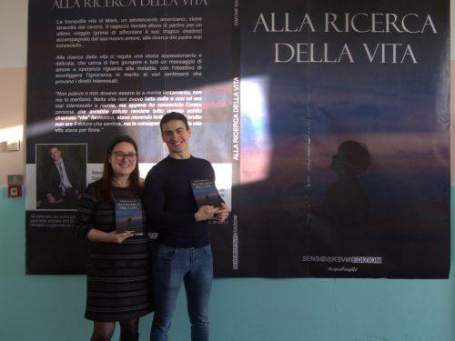 """L'intervento dell'Assessore ai Servizi Sociali di Aprilia Francesca Barbaliscia durante la presentazione del libro """"Alla Ricerca della vita"""""""