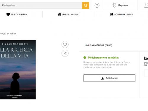 'Alla ricerca della vita' anche sullo store online francese FNAC.COM